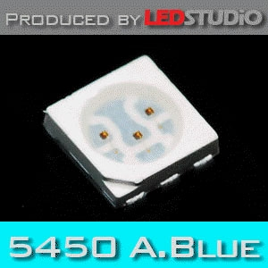 LEDSTUDiO SMD 5450 3Chip LED (@ 60mA) :: 알라스카 블루 (1,000 ea)