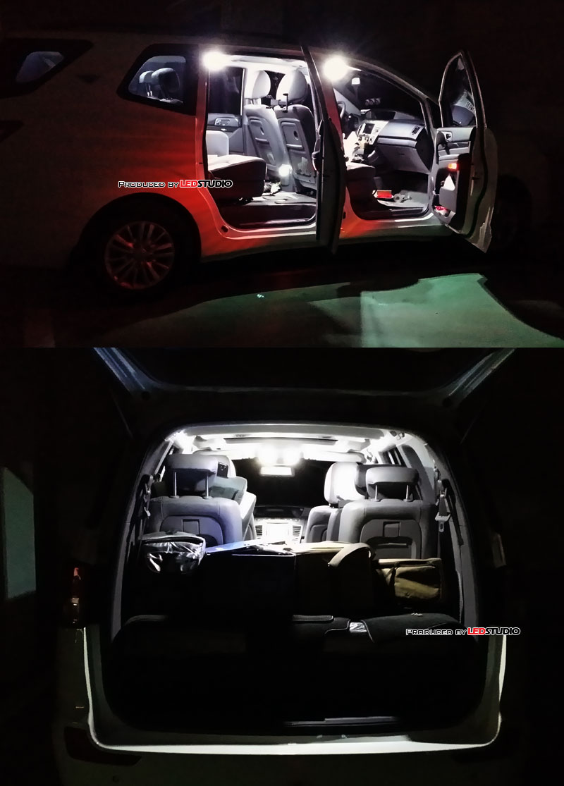 exLED 1533L2 POWER LED 로디우스,투리스모(~2014) 실내등 셋트