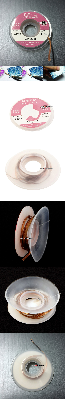 납 흡입/납 제거 와이어 (2mm/1.5m CP-2015)