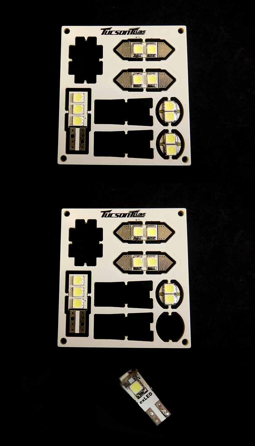 exLED 투싼 TL용 실내등(옵션등 셋트/공동구매형)