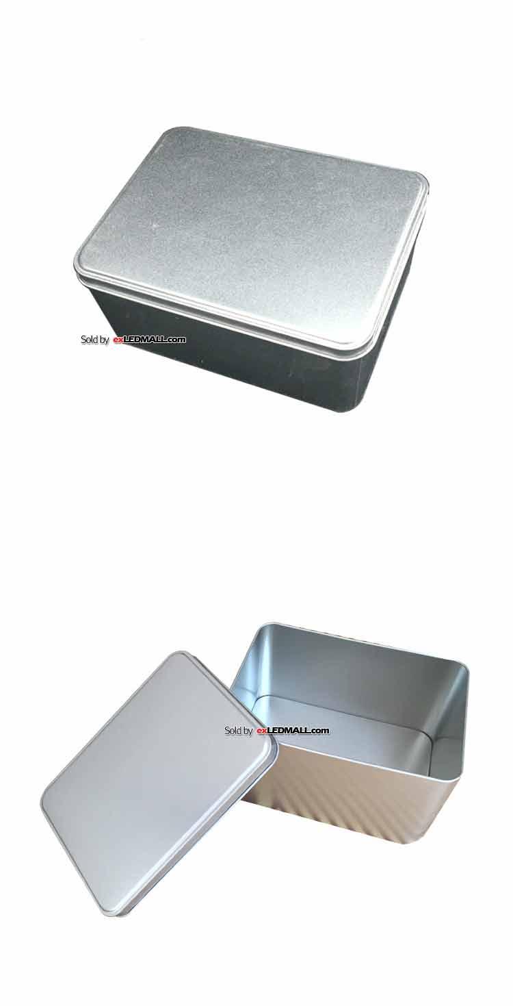 알루미늄 케이스 사각 165x120x90mm (부품통/피스통/나사통/넛트통)