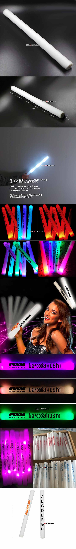 [파티용품,응원도구] LED 스폰지봉 / 광선검 40cm 화이트