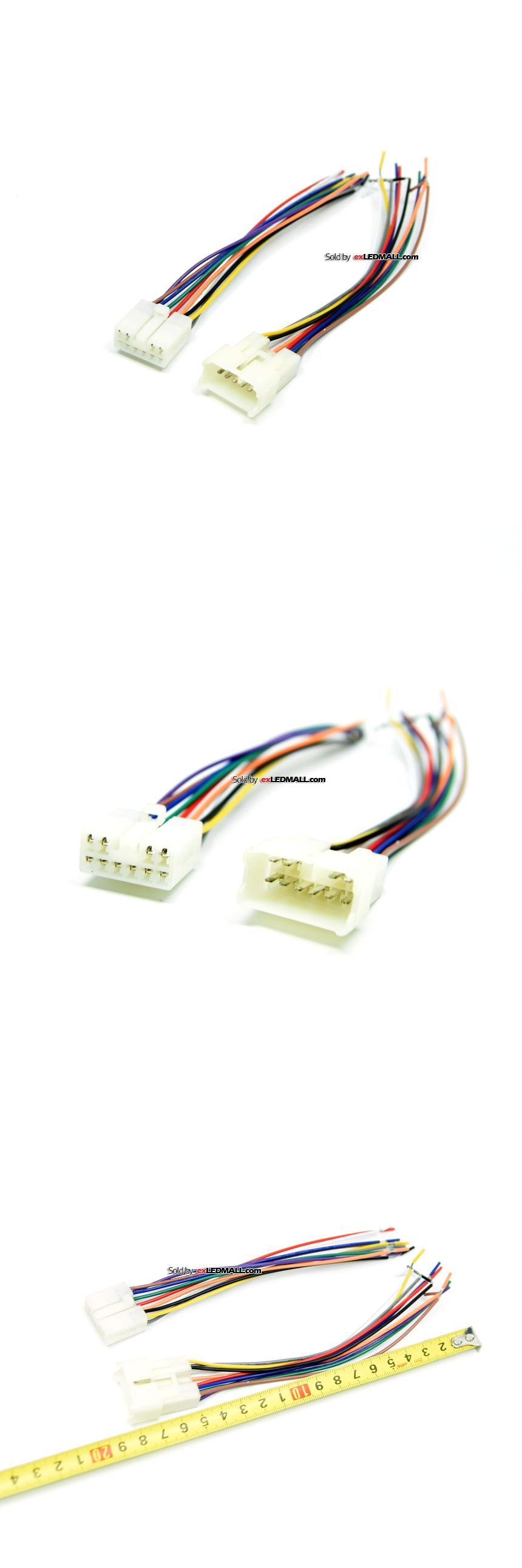 하네스 150mm 10P 대전류 커넥터 (암수셋트)